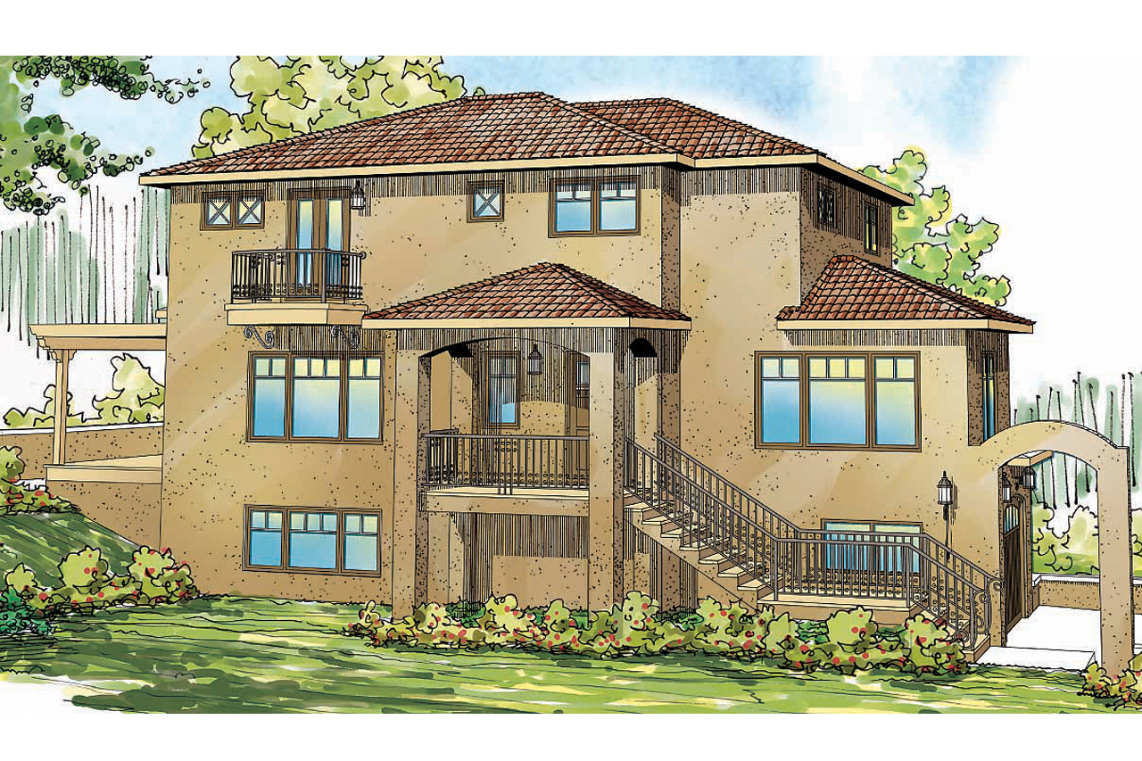Featured House Plan of the Week, Southwest Home Plan, Santa Rosa 30-800