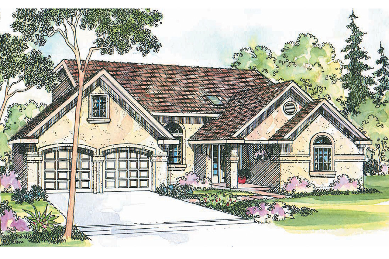 Southwest house plans siena 30 186 associated designs for Southwest style house plans