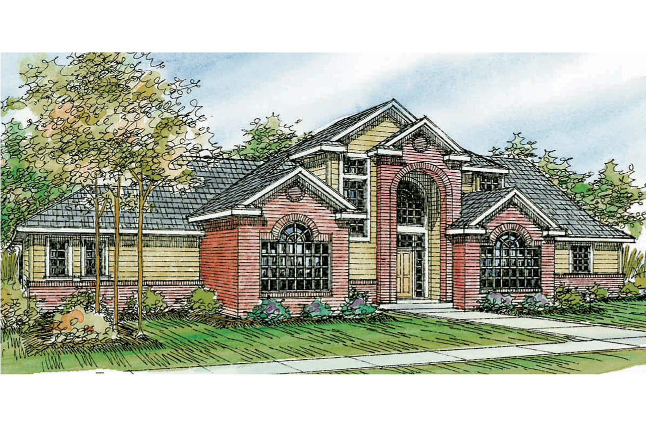 Traditional house plans bloomsburg 30 667 associated for Traditional design homes