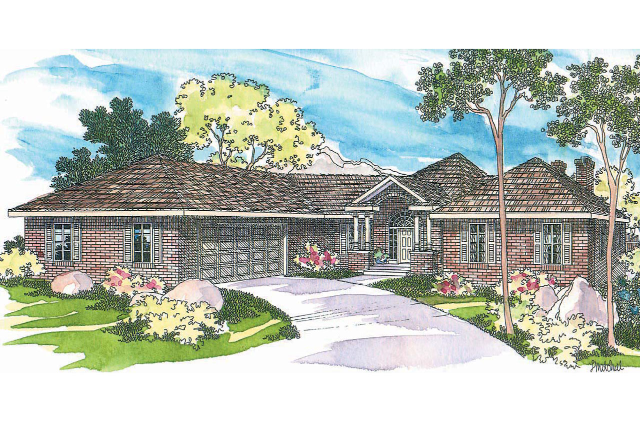 Featured House Plan of the Week, Traditional House Plan, Hexagonal Home Plan, Linfield 10-322