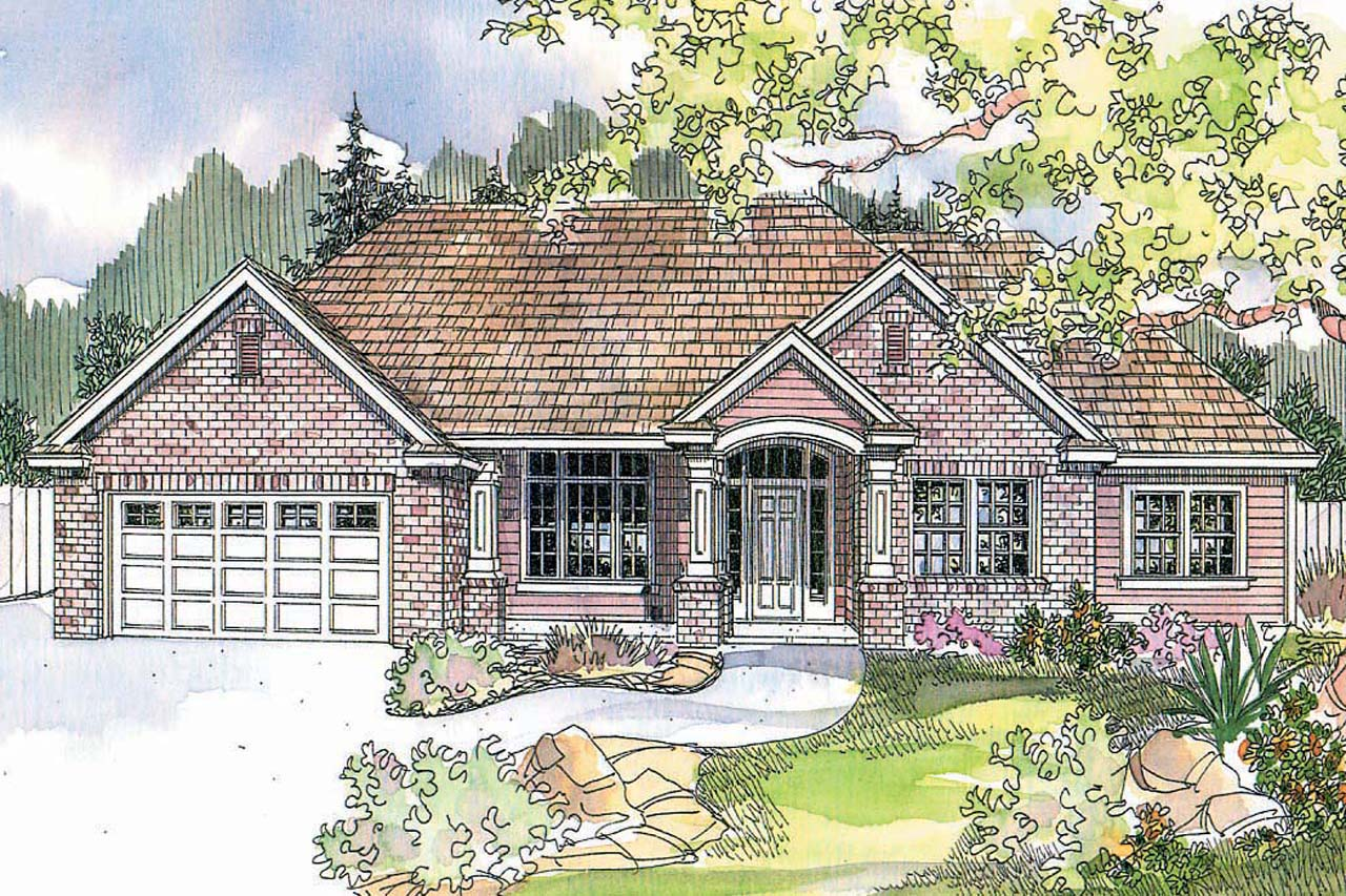 Featured House Plan of the Week, Traditional House Plan, Home Plan, Parkcrest 30-561