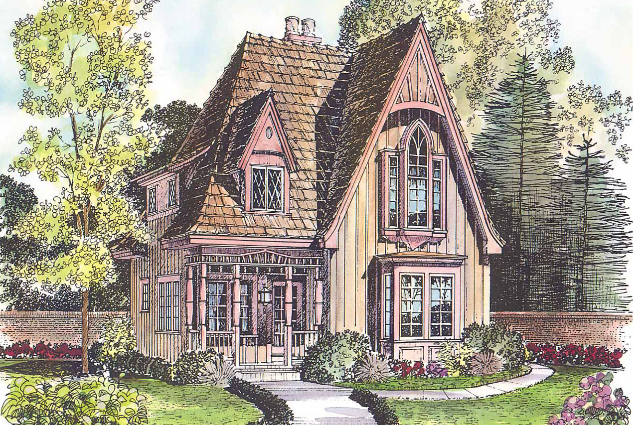Victorian house plans topeka 42 012 associated designs for Gothic cottage plans