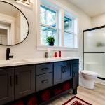 Constructed Custom Home Photo - Guest Bathroom