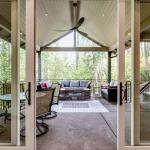 Constructed Custom Home Photo - Covered Patio Transition