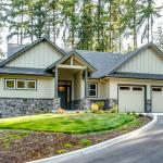 Constructed Custom Home Photo - Front Exterior