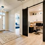 Constructed Custom Home Photo - Pocket Office