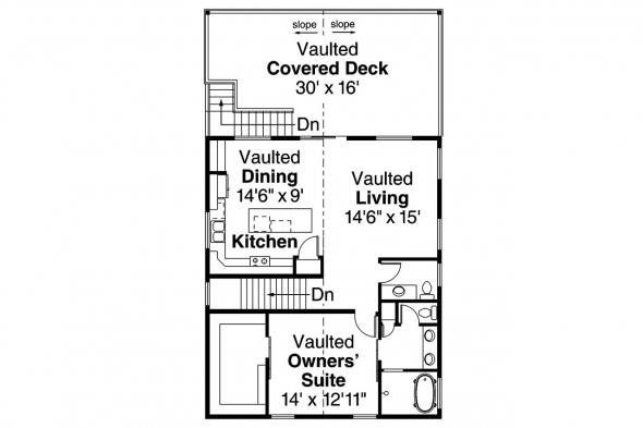 Garage Plan 20-183 - Third Floor Plan