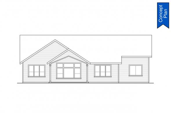 Country Concept Plan - Emmons 31-148 - Rear Elevation