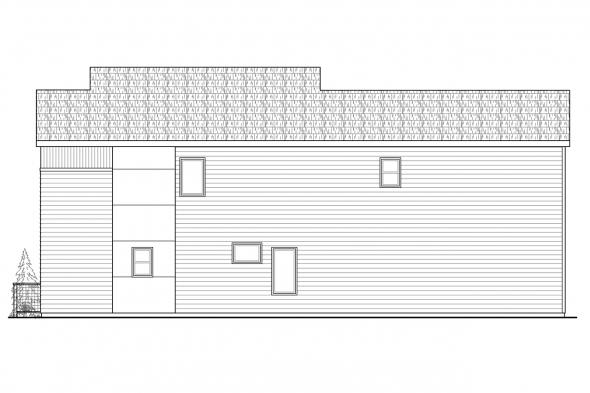 Florida House Plan - Parkview 30-905 - Right Elevation