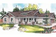Bungalow House Plan - Strathmore 30-638 - Front Elevation