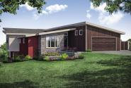 Contemporary Home Design - Edgefield 31-131 - Front Exterior