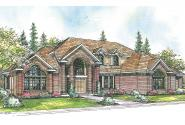 Contemporary House Plan - Aroland 30-121 - Front Elevation