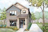 Contemporary House Plan - Stinson 30-891 - Front Elevation