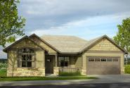 Cottage House Plan - Afton 30-993 - Front Elevation