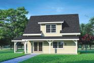 Cottage House Plan - Bayberry Cottage 31-248 - Front Elevation
