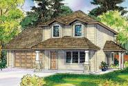 Cottage House Plan - Molalla 30-685 - Front Elevation