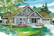 Cottage House Plan - Spangler 30-674 - Front Elevation