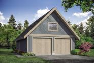 Country Garage Plan 20-204 - Front Elevation