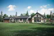 Country House Plan - Kingsbridge 31-162 - Front Exterior