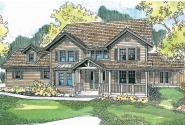 Country House Plan - Eganville 30-428 - Front Elevation