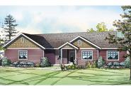 Country House Plan - Kensington 30-843 - Front Elevation