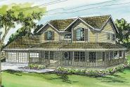 Country House Plan - Morgan 10-059 -  Front Elevation