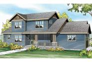 Country House Plan - Ontario 30-830 - Front Elevation