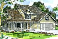 Country House Plan - Prescott 10-260 - Front Elevation