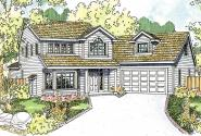 Country House Plan - Shiloh 30-837 - Front Elevation