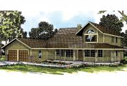 Country House Plan - Trinity 10-211 - Front Elevation