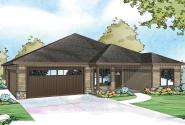 Country House Plan - Westfall 30-944 - Front Elevation