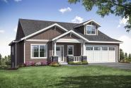 Craftsman Home Plan - Pine Valley 31-159 - Front Elevation