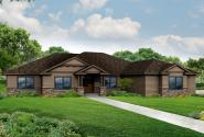 Craftsman House Plan - Cannondale 30-971 - Front Elevation