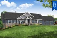 Craftsman House Plan - Clear Creek 31-226 - Front Elevation