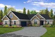 Craftsman House Plan - Ellington 30-242 - Front Elevation