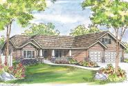 Craftsman House Plan - Grayson 30-305 - Front Elevation