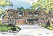 Craftsman House Plan - Heartfield 30-400 - Front Elevation