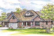 Craftsman House Plan - Hearthside 10-350 - Front Elevation