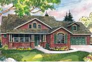 Craftsman House Plan - Heartsong 10-470 - Front Elevation