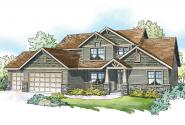 Craftsman House Plan - Hillsborough 30-870 - Front Elevation