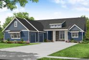 Craftsman House Plan - Holly Springs 31-267 - Front Elevation