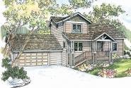 Craftsman House Plan - Mathis 30-475 - Front Elevation