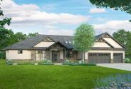Craftsman House Plan - Meadows Edge 31-247 - Front Elevation