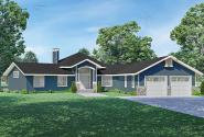 Craftsman House Plan - Percydale 11-164 - Front Elevation