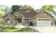 Craftsman House Plan - Ridgefield 30-696 - Front Elevation