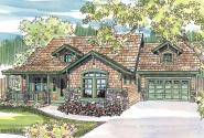 Craftsman House Plan - River Glen 30-223 - Front Elevation