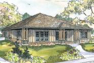 Craftsman House Plan - Tealwood 30-440 - Front Elevation