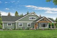 Craftsman House Plan - Westcott 31-194 - Front Elevation