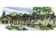 Craftsman House Plan - Woodcliffe 30-715 - Front Elevation