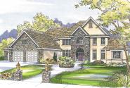 European House Plan - Avalon 30-306 - Front Elevation